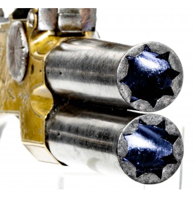 Attractive Tap Action Pistol by Thomas Perrins of Windsor