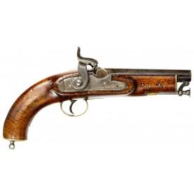 Scarce British Pattern 1839 Sea Service Pistol for Coast Guard Use