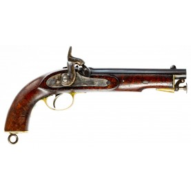 Near Excellent British Pattern 1858 East Indian Government Service Pistol