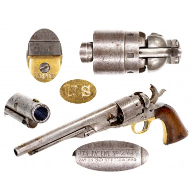 "Arsenal ""Cleaned & Refurbished"" US Marked Colt Model 1860 Army Revolver"