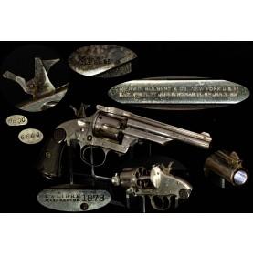 Fine Merwin Hulbert & Co 4th Model DA 44-40 Revolver