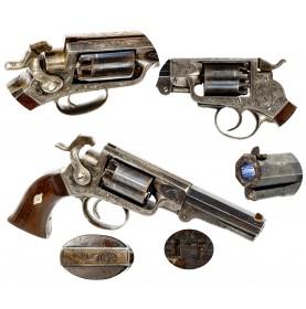 Extremely Rare IXL Navy Percussion Revolver