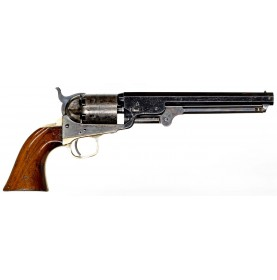 Excellent and Rare Colt Model 1851 Navy Revolver with Enfield Cartouche