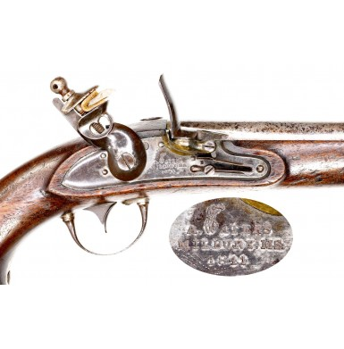 Attractive & Nicely Priced US Model 1836 Pistol by Waters in Original Flint