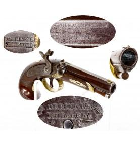 Scarce Wolf & Durringer of Louisville Retailer Marked Henry Deringer Pocket Pistol