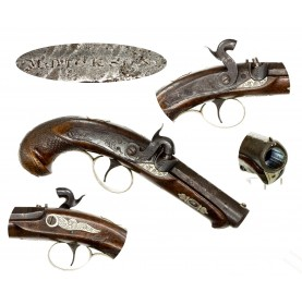Rare Moses Dickson Derringer Pistol