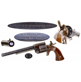 Extremely Rare & Fine Bacon 2nd Model Navy Revolver