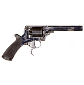 Fine 3rd Model Tranter Revolver Near the Pratt Roll Serial Number Range