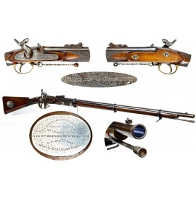 Enfield Pattern 1853 Presentation Prize Volunteer Pattern Rifle Musket
