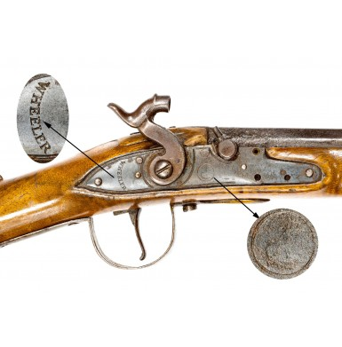 Early Percussion Altered Northwest Trade Gun by Robert Wheeler