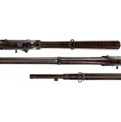 Extremely Rare Japanese Boshin War Era Meiji Registered Mont Storm Enfield Rifle