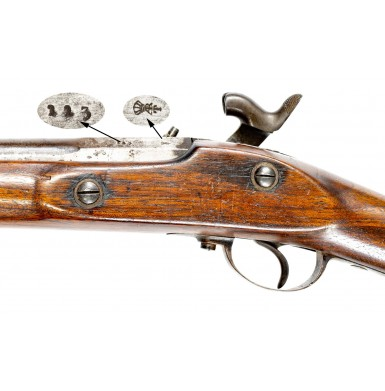 Rare 1861 Dated Spanish Modelo 1857/59 Rifle - A Likely Confederate Import Arm