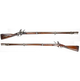 US Model 1816 Springfield Flintlock Musket with Militia Plaque