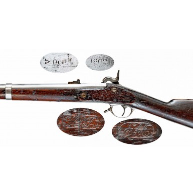 Fine 1862 Dated US Model 1861 Springfield Rifle Musket