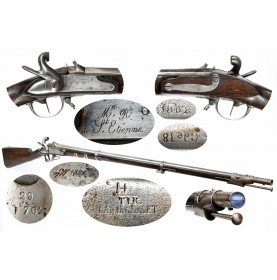 French Model 1822 Percussion Altered Rifled Musket