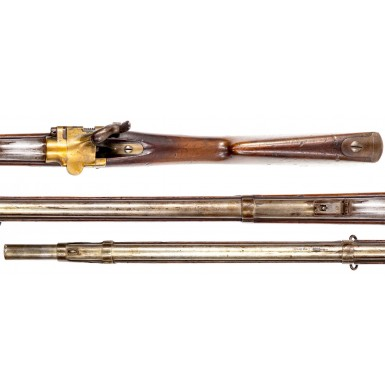Scarce Franco-Prussian War Era French Military Tabatière Alteration of a Model 1853 Musket