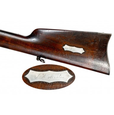 Rare 56 Caliber Colt Military Style Model 1855 Revolving Rifle