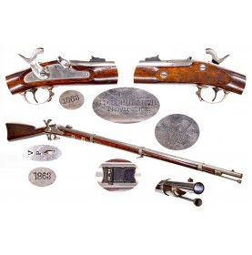 Extremely Rare & Fine C.D. Schubarth Contract US Model 1861 Rifle Musket