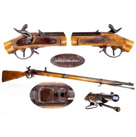 Austrian Model 1854 Lorenz - Fine & Untouched Blued Commercial Variant
