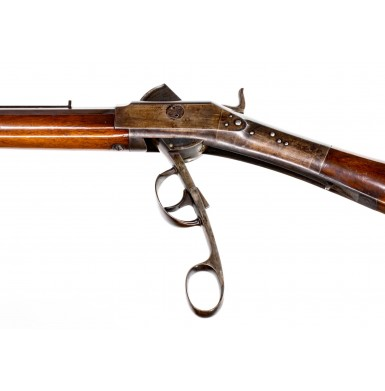 Fine & Scarce Perry Patent Percussion Breechloading Plains Rifle