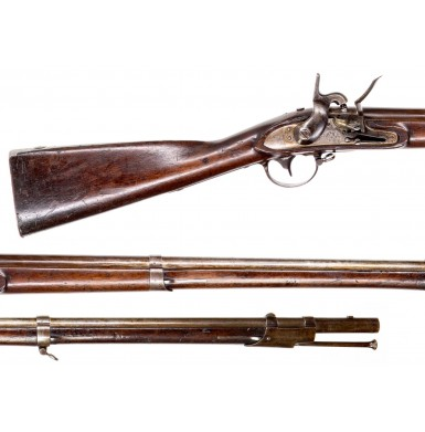 """US Model 1822 Musket by Harpers Ferry with Springfield USP Marked Pattern Lock - Unique """"Flint-Cussion"""" Alteration"""