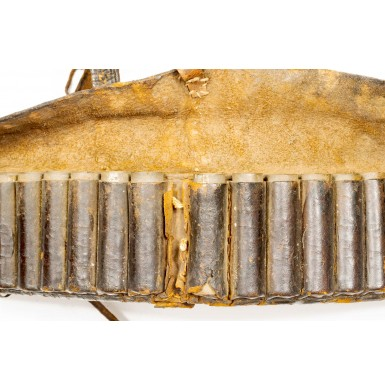 Early 19th Century American Militia Cartridge Belt - Possibly for use with the Hall Rifle