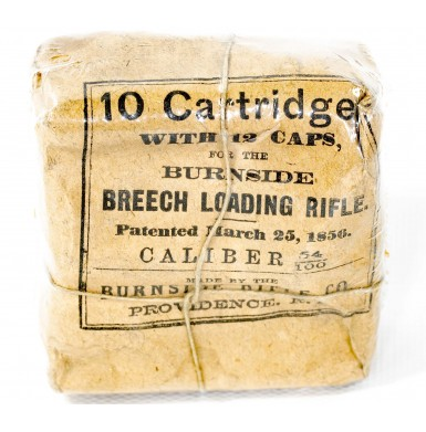 Unopened Packet of 10 Burnside Carbine Cartridges