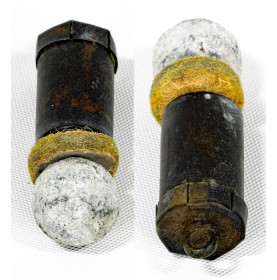 Rare Adams Dustbin Revolving Rifle Cartridge by Eley of London