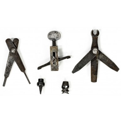 Complete Set of 5 Tools for the US M1855 and M1861 Rifle Musket