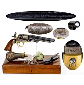 Attractive Cased Colt 1862 Pocket Model of Navy Caliber