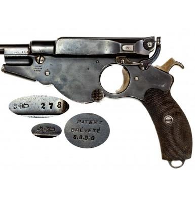 Fine & Scarce Bergmann Model 1896 No 3 Pistol