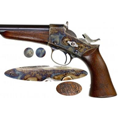 Excellent Remington Model 1871 Rolling Block Pistol