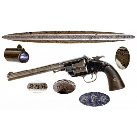 Scarce Blued Forehand & Wadsworth Old Model Army Revolver