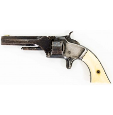 Civil War Period Smith & Wesson Model 1 2nd Issue Revolver with Factory Ivory Grips