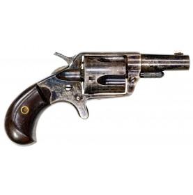Beautiful Color Casehardened 1st Model Colt New Line Revolver in .38 Colt