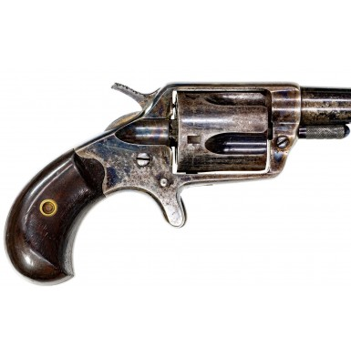 Beautiful Color Casehardened 1st Model Colt New Line Revolver in .38 Colt