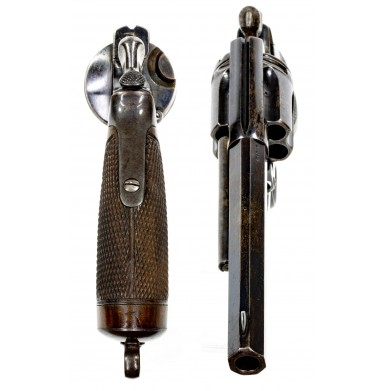Rare Tranter Model 1878 450CF British Military Revolver with New Zealand Armed Constabulary Markings