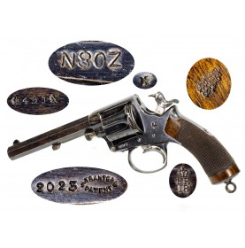 Rare Tranter Model 1878 450CF British Military Revolver with New Zealand Armed Constabulary Markings