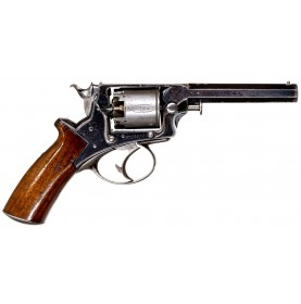 Extremely Rare TW Radcliffe - Columbia SC Retailer Marked Fully Cased 4th Model Tranter 80-Bore Revolver