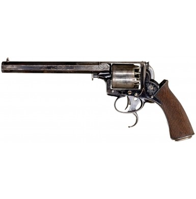 """Extremely Rare Published Cased Hyde & Goodrich 1st Model """"Adams-Tranter"""" Dragoon Revolver in 36 Bore"""
