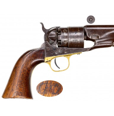Martially Marked Early 1863 Production Colt Model 1860 Army Revolver