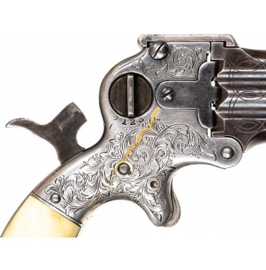Nimschke Engraved 4-Inch Three-Barreled Marston Derringer