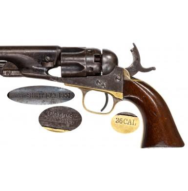 Colt Model 1862 Police Revolver Made In 1863
