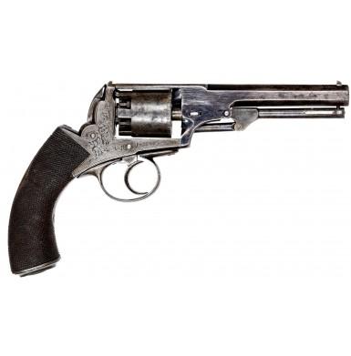 Fine Webley-Bentley Revolver by William Rowntree