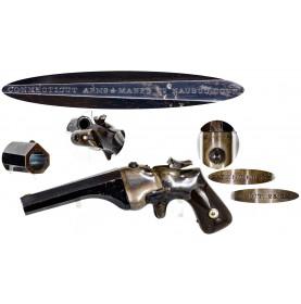 Very Fine Connecticut Arms Company Hammond Bull Dog Pocket Pistol