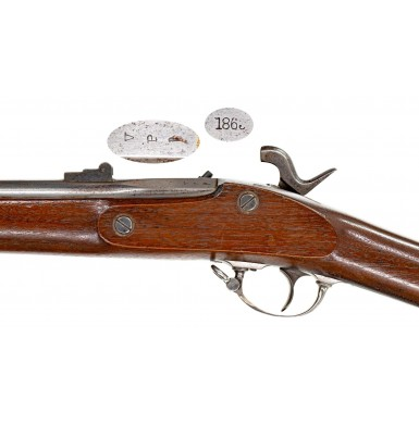 Engraved Norwich Contract Model 1861 Rifle Musket Presented to Pierre St M Andrews