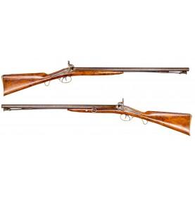 Extremely Rare Barnett Cape Cavalry Double Barrel Carbine in Fine Condition