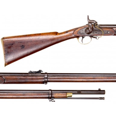 Confederate Imported Pattern 1858 Enfield Naval Rifle with Matching Numbered Ramrod