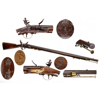 "Extremely Rare Mexican Military ""Brown Bess"" from the Mexican American War"