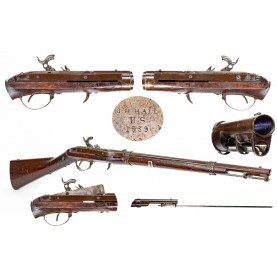 US Model 1836 Type II Hall Carbine - Only about 1,000 Made at Harpers Ferry